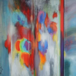 Ten years after, acrylic on canvas, 100x100cm, Sold