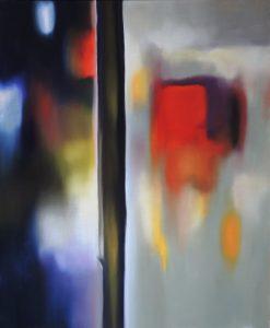 The path of the silence, oil on canvas, 60x73cm