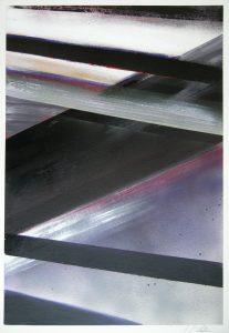 The silence N°2, acrylic on paper, 46x66cm