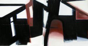 Passages, dyptich, oil on canvas, 2x120x120cm