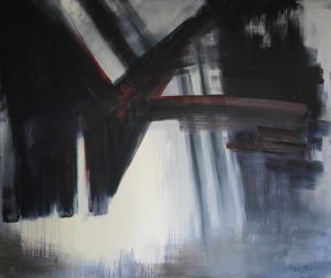 Those bonds which separate us, oil on canvas, 120x100cm