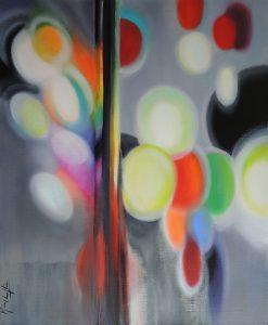 Echoes acrylic on canvas 60x73cm