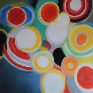 Like a dream 1, acrylic on canvas 100x100cm
