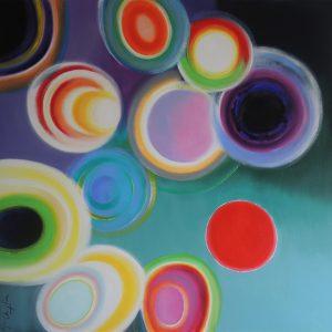 Like a dream, acrylic on canvas 100x120cm