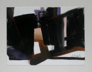 Bridges, acrylic on paper, 30,5x23 cm Sold