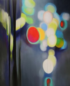 Rain of joy, oil on canvas, 100x120cm