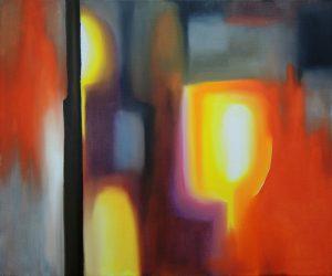 Rayonnance, oil on canvas, 46x55cm