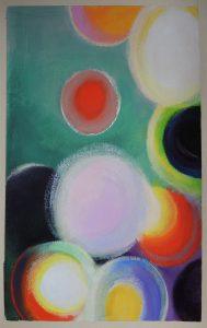 Spring 1, acrylic on paper 20x30cm